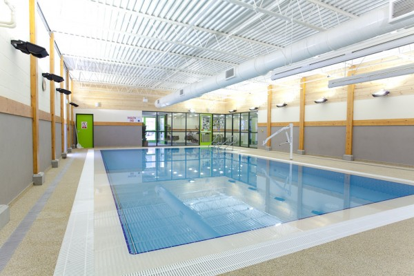 New Hydrotherapy Centre at Hannahs at Seale Hayne